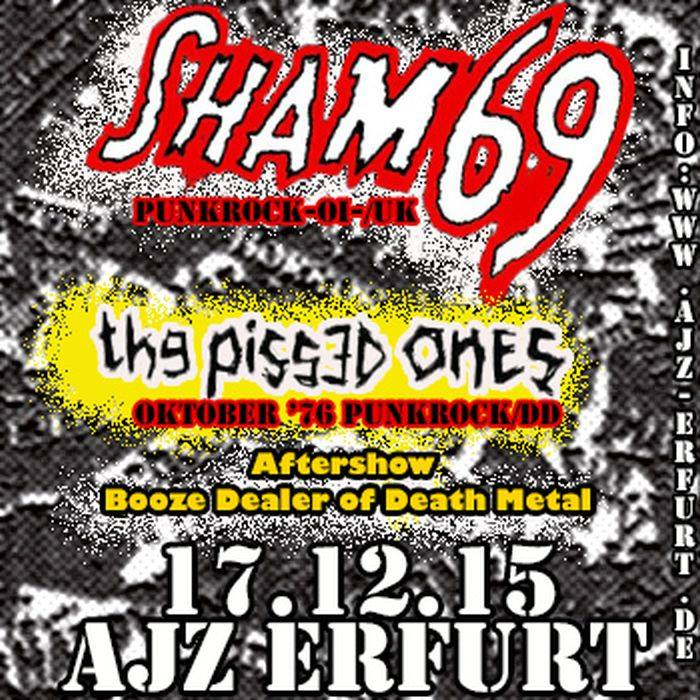 Shma 69 The Pissed Ones Erfurt AJZ