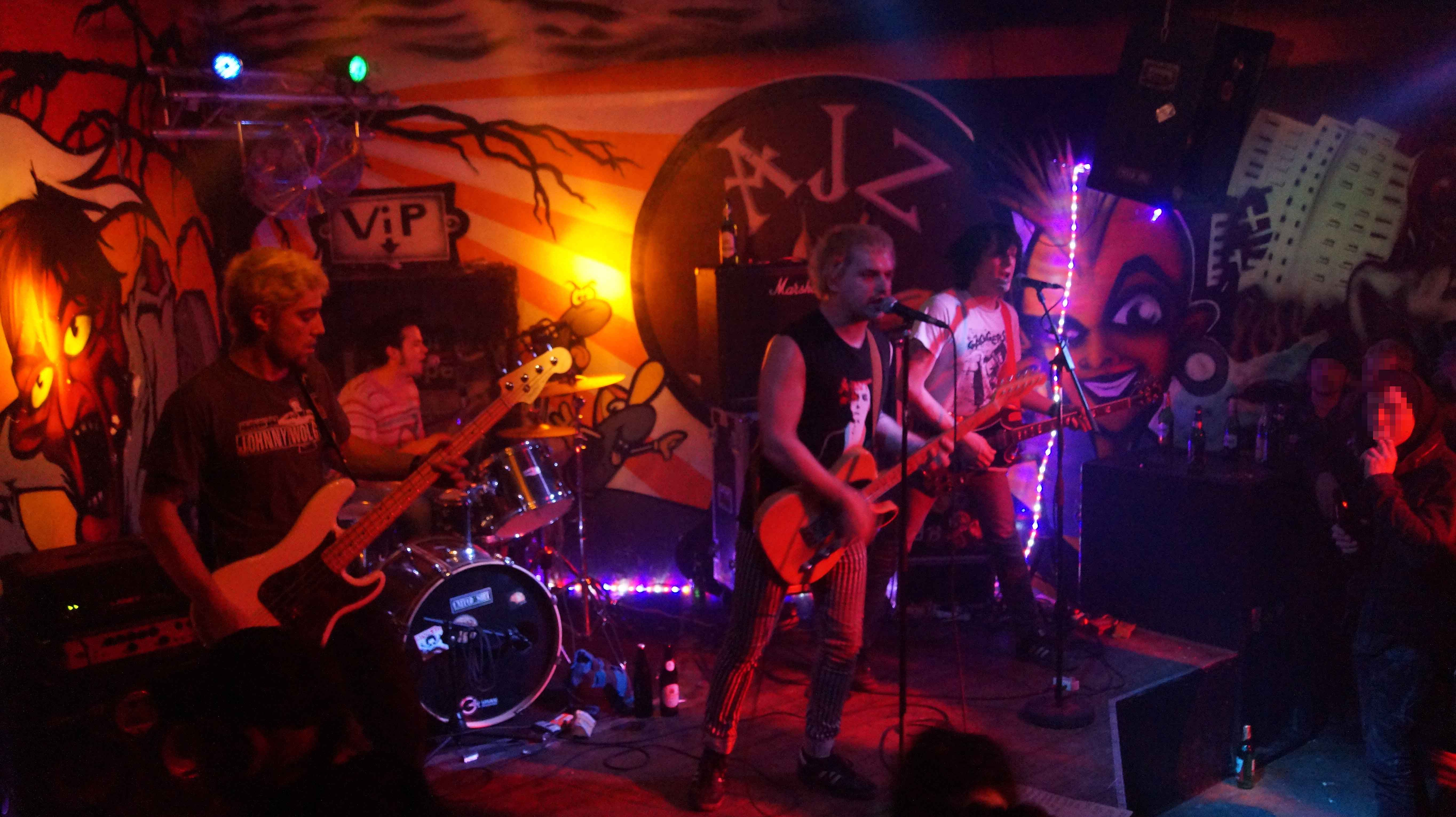 The Pissed Ones Dresden Punk